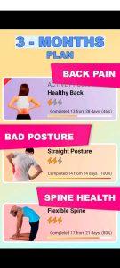 доровая спина и прямая осанка Тренировка спины APK 1
