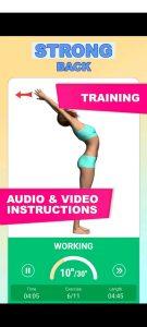 доровая спина и прямая осанка Тренировка спины APK 3